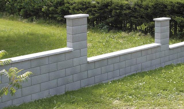 Semmelrock Rivago kerítés középszürke félkő