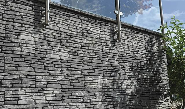 Semmelrock Bradstone Milldale szürke melírozott dekorlap