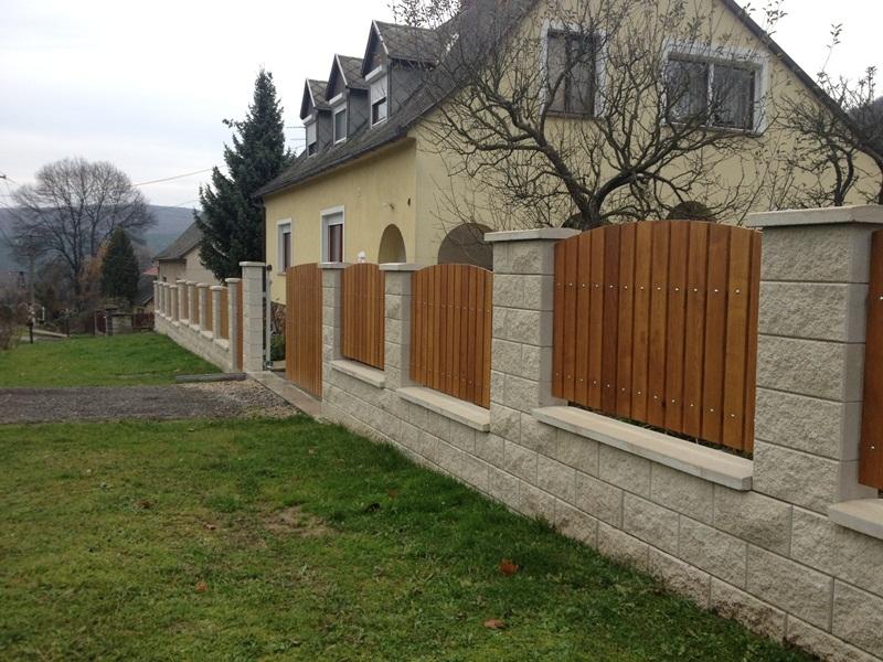 Leier Architektúra kerítéskő 1.