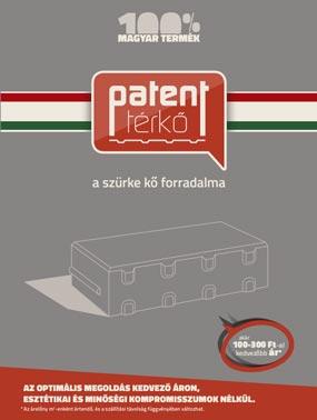 Barabás Patent térkő prospektus