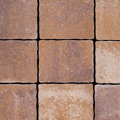 Semmelrock Appia Antica Kombi térkő 5 cm lávavörös melírozott