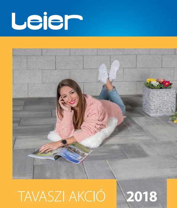 Leier tavaszi térkő akció 2018
