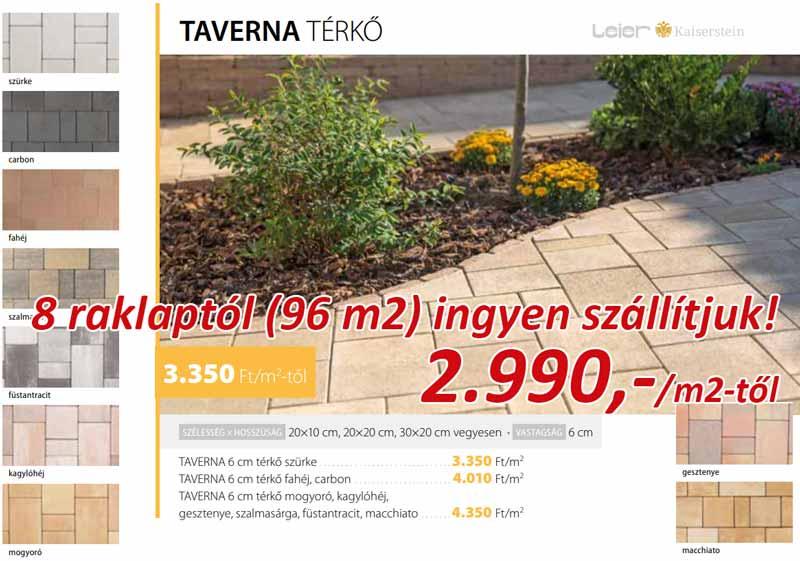 Leier Taverna térkő