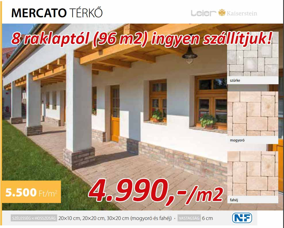 Leier Mercato térkő