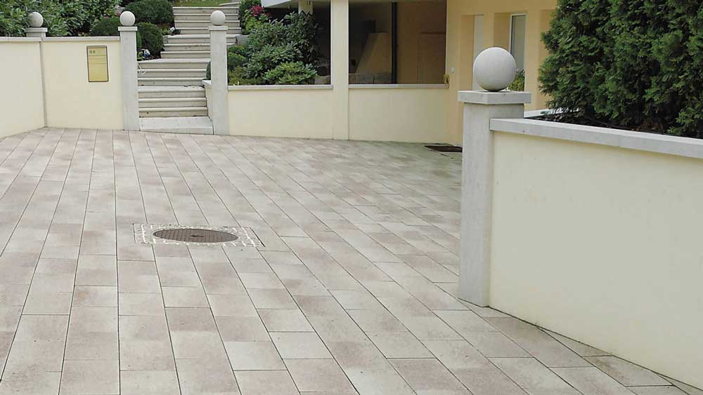 Semmelrock Umbriano lap gránit-beige