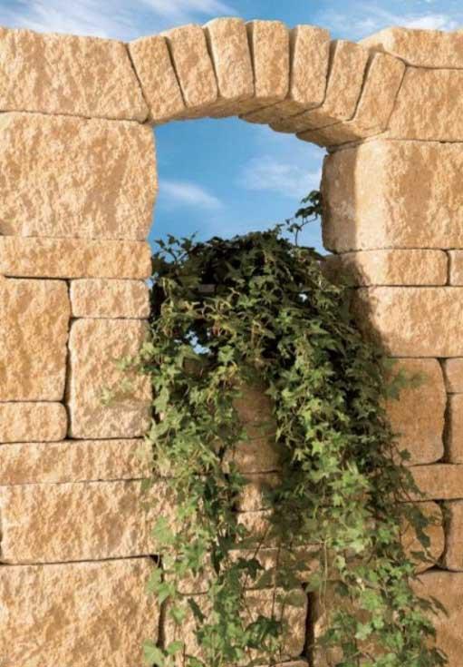 Leier Castrum falazókő fuoco