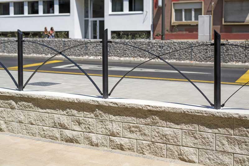Leier Architektura kerítéskő törtfehér
