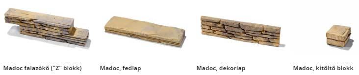 Semmelrock Bradstone Madoc falrendszer