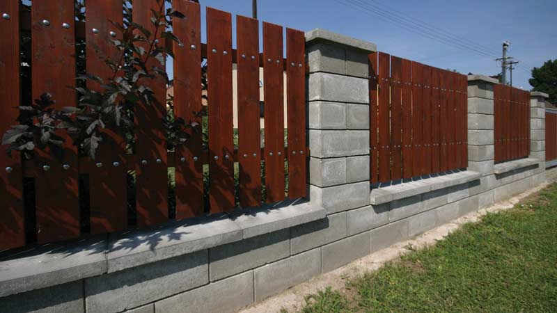 Semmelrock Rivago kerítés középszürke