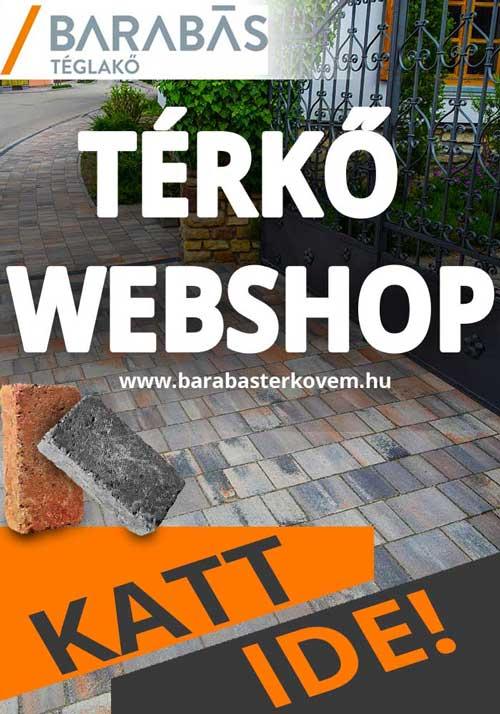 Barabas térkő webshop