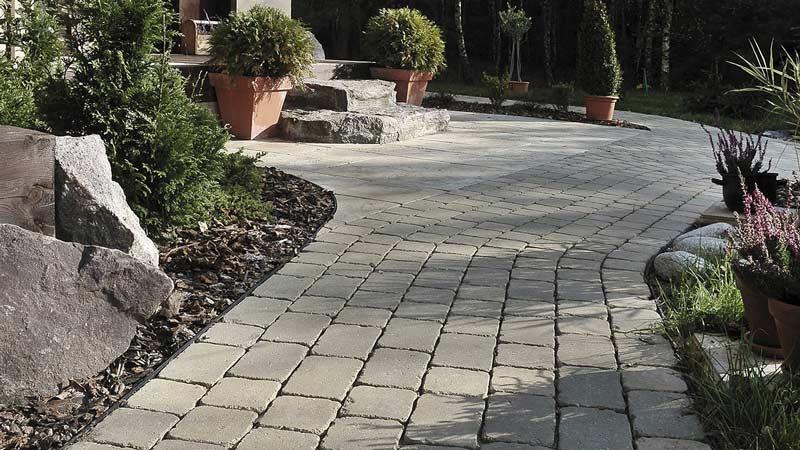 Semmelrock Castello Antico térkő szürke-fekete