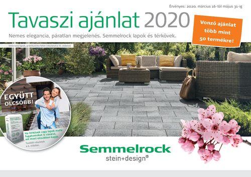 Semmelrock tavaszi térkő akció 2020
