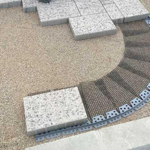 Steinfix kerti szegély íves 200 cm