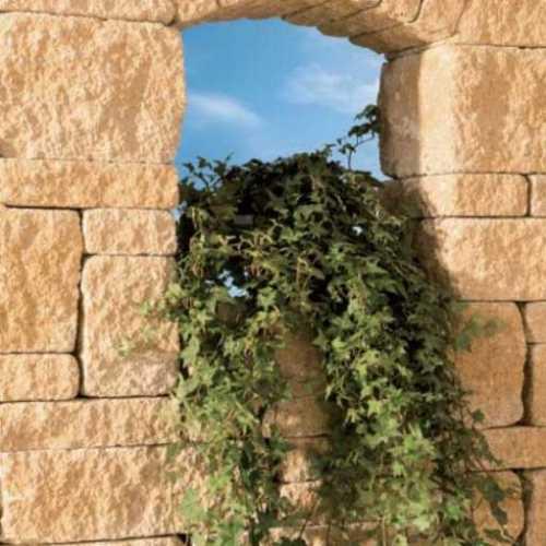 Leier Castrum falazókő 24 cm-es falhoz