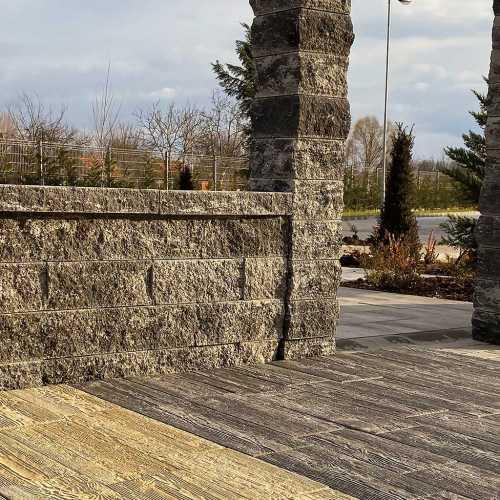 Viastein Avangard kerítés rendszer (roppantott felülettel)