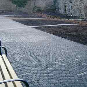 Semmelrock Arte Pest-Buda kockakő íves kő
