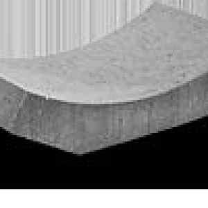 Semmelrock Mederelem 59x33x15,5/8 cm szürke