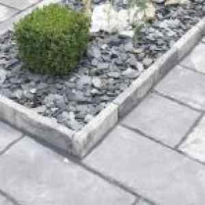 Semmelrock Bradstone Milldale kertilap 4 cm szürke melírozott