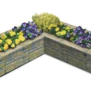 Semmelrock Bradstone virágtartó 4. - 153,5x153,5x32 cm