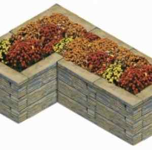 Semmelrock Bradstone virágtartó 5. - 153,5x106x46 cm