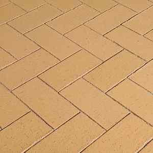 Semmelrock Penter Siena térburkoló klinkertégla homoksárga