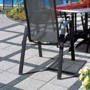 Semmelrock La Linia térkő 20 x 20 x 8 cm gránitszürke
