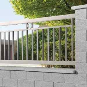 Semmelrock Rivago kerítés középszürke normál kő